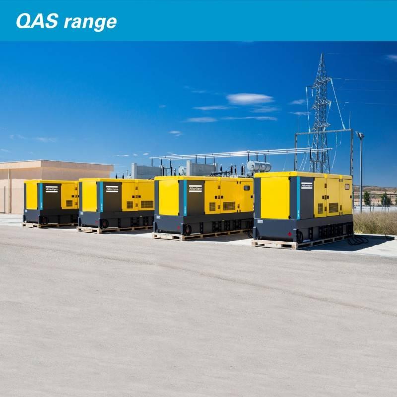 Atlas Copco QAS 5 100 KVA, Diesel Generators, Construction