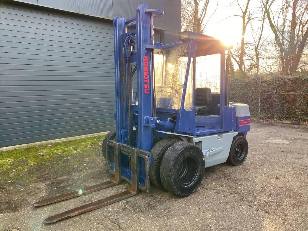 Komatsu FD45-5 4.5 ton | Duplex, Diesel trucks, Material Handling