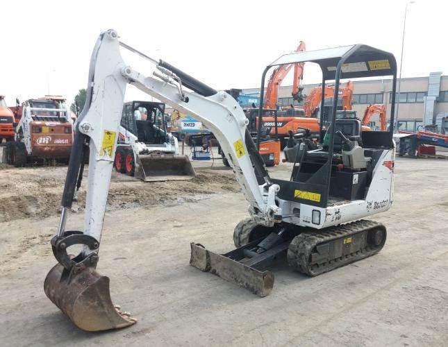 Bobcat E16, Mini digger, Construction Equipment