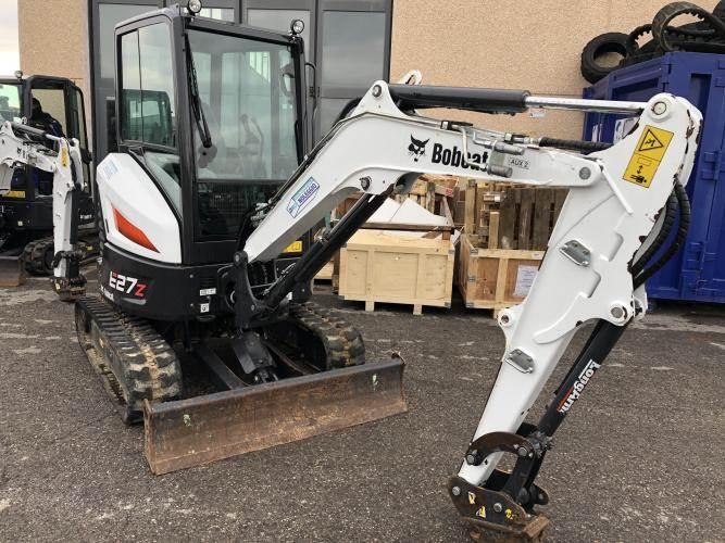 Bobcat E27Z, Mini digger, Construction Equipment