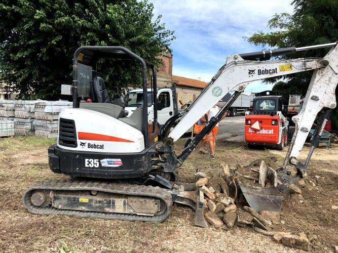 Bobcat E35, Mini digger, Construction Equipment