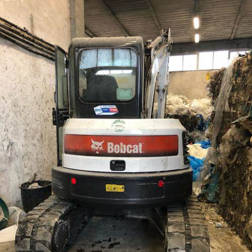 Bobcat E50, Mini digger, Construction Equipment