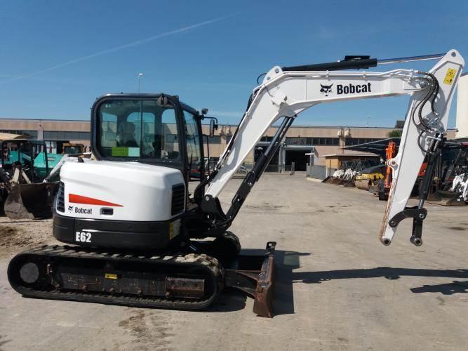 Bobcat E62, Mini digger, Construction Equipment