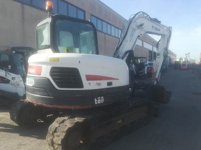 Bobcat E80, Mini excavators  7t - 12t, Construction Equipment
