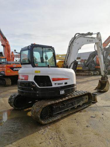 Bobcat E85, Mini excavators  7t - 12t, Construction Equipment