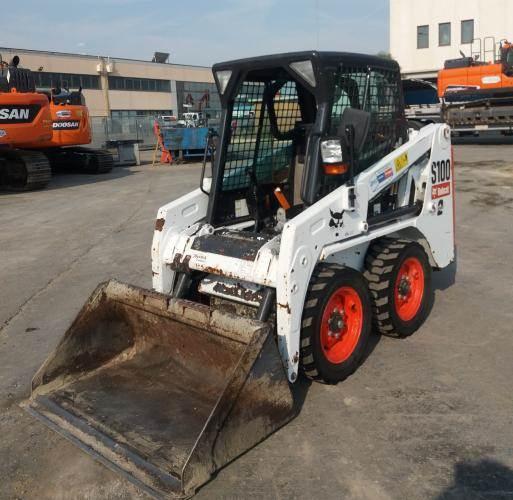 Bobcat S100EJ, Skid Steer Loaders, Construction Equipment