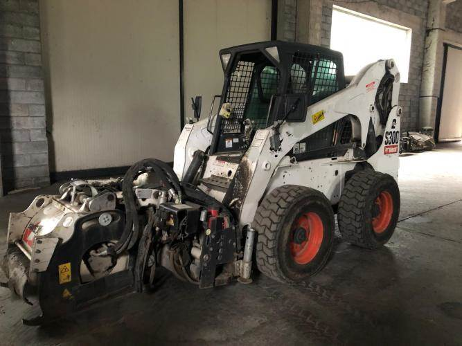 Bobcat S300HFJ, Skid Steer Loaders, Construction Equipment