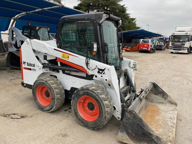 Bobcat S550, Skid Steer Loaders, Construction Equipment