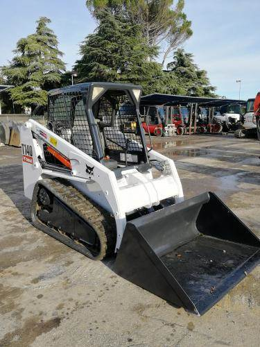 Bobcat T140, Skid Steer Loaders, Construction Equipment