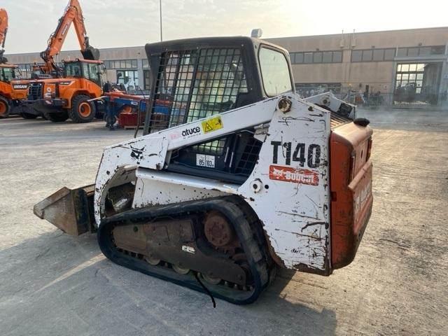 Bobcat T140, Skid Steer Loaders, Construction Equipment