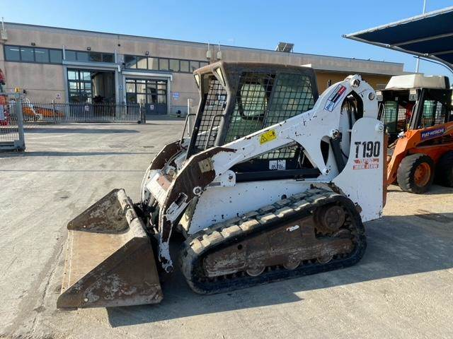 Bobcat T190, Skid Steer Loaders, Construction Equipment