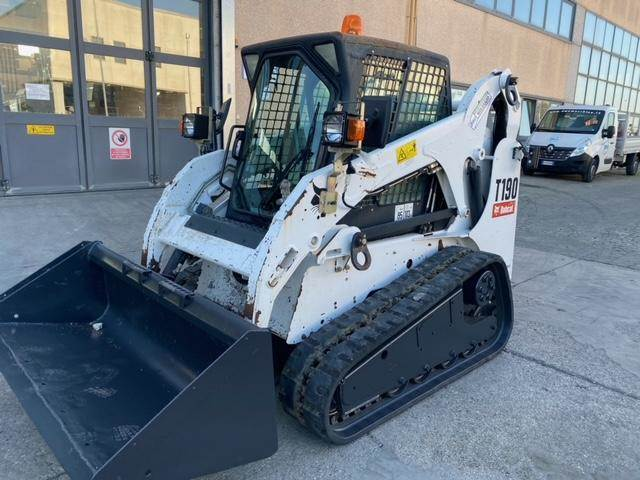 Bobcat T190HF, Skid Steer Loaders, Construction Equipment