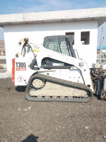 Bobcat T300HFJ, Skid Steer Loaders, Construction Equipment
