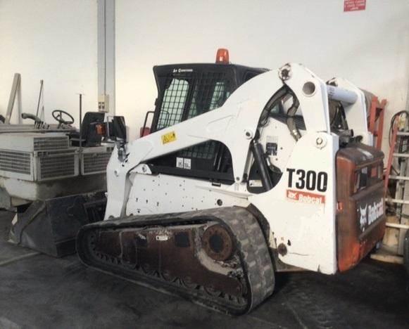 Bobcat T300J, Skid Steer Loaders, Construction Equipment