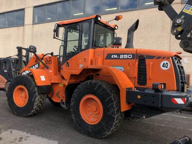 Doosan DL250-3, Wheel Loaders, Construction Equipment