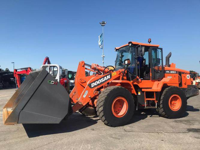 Doosan DL250-3, Wheel Loaders, Construction Equipment