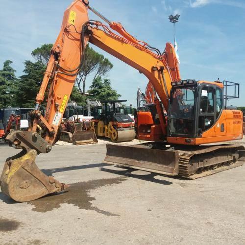 Doosan DX140LC-3, Crawler Excavators, Construction Equipment