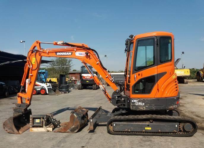 Doosan DX35z, Mini digger, Construction Equipment