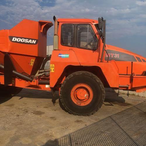 Doosan MT31, Site Dumpers, Construction Equipment