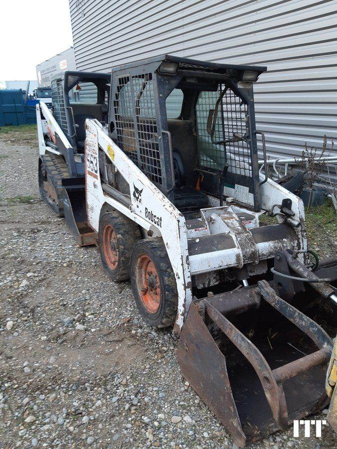 Bobcat 553, Skid Steer Loaders, Construction Equipment
