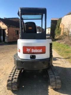 Bobcat E26, Mini digger, Construction Equipment