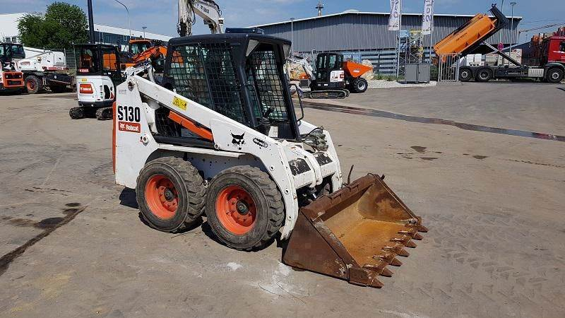 Bobcat S130, Skid Steer Loaders, Construction Equipment