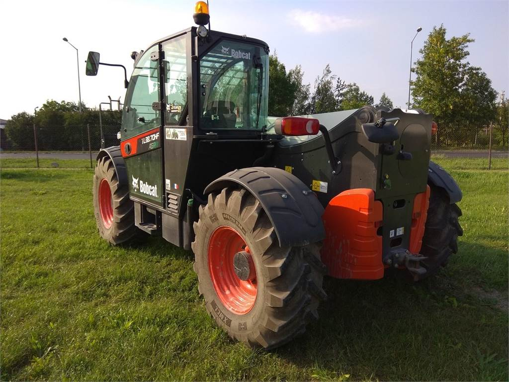 Bobcat TL38.70 HF AGRI, Telescopic Handlers, Construction Equipment