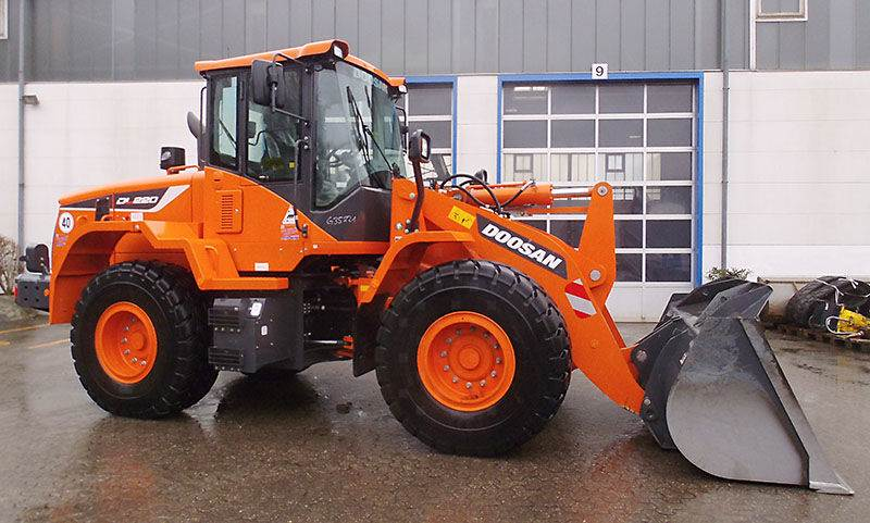 Doosan DL 220-5, Wheel Loaders, Construction Equipment