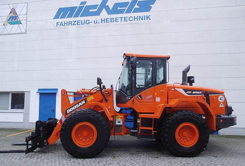 Doosan DL 250-5, Wheel Loaders, Construction Equipment