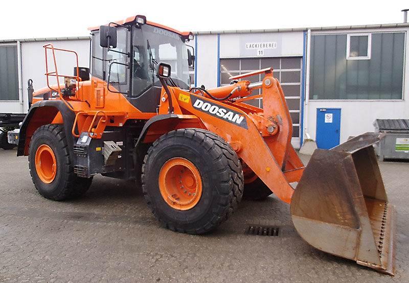Doosan DL 300-5, Wheel Loaders, Construction Equipment