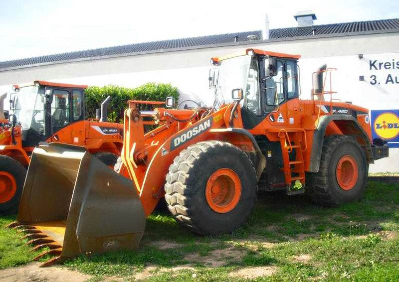 Doosan DL 420-5, Wheel Loaders, Construction Equipment