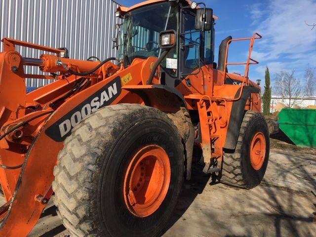 Doosan DL420-3, Wheel Loaders, Construction Equipment