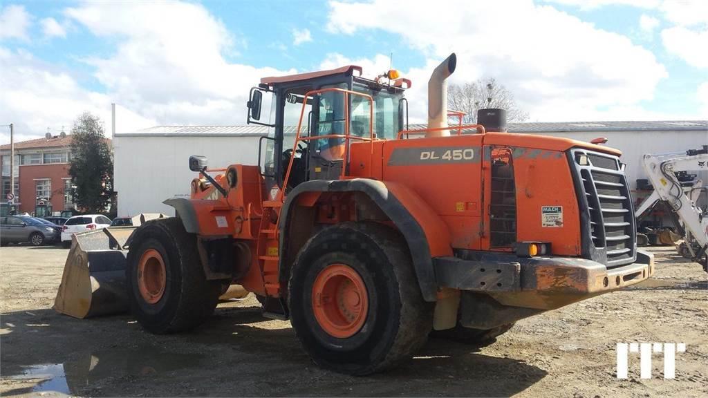 Doosan DL450-3, Wheel Loaders, Construction Equipment