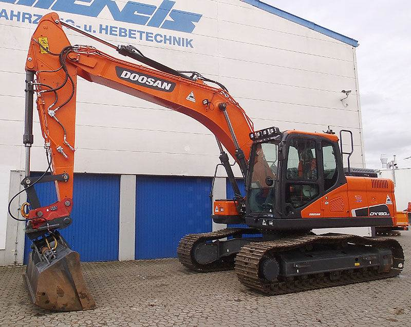 Doosan DX 180LC-5, Crawler Excavators, Construction Equipment