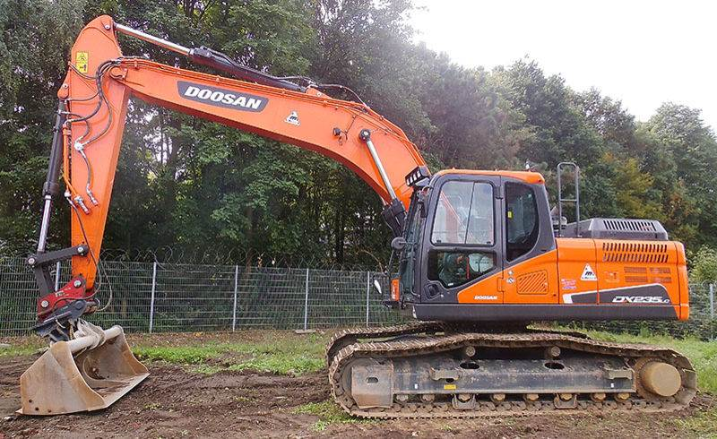 Doosan DX 235LC-5, Crawler Excavators, Construction Equipment