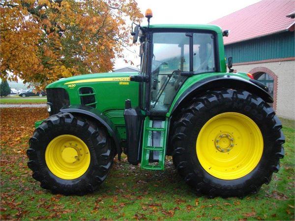 used john deere 7430 auto quad plus tractors year 2008. Black Bedroom Furniture Sets. Home Design Ideas
