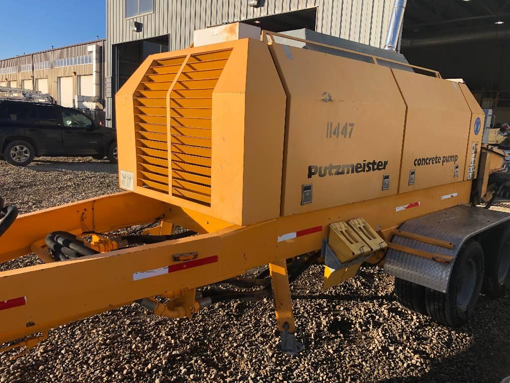 Putzmeister BSA 2110, Boom Pumps, Construction Equipment