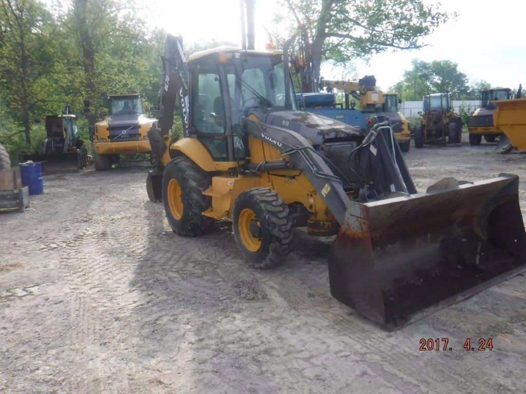 Volvo BL70, Backhoe Loaders, Construction Equipment