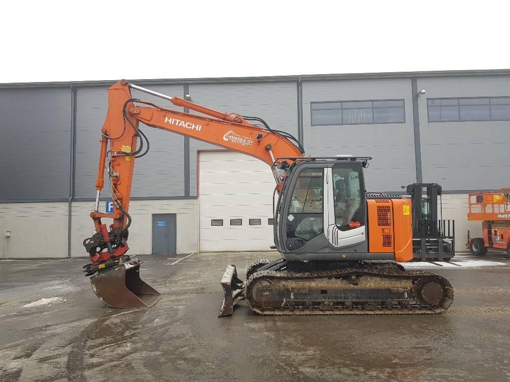 Hitachi ZX135US-3 BL, Crawler excavators, Construction