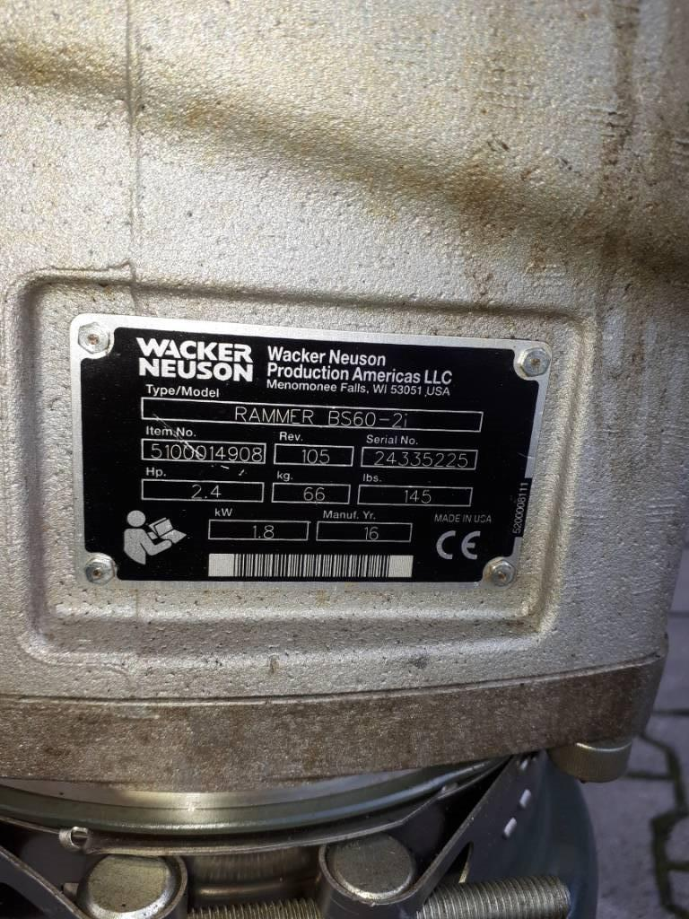 Wacker Neuson BS60-2i, Vibratory Rammers, Products