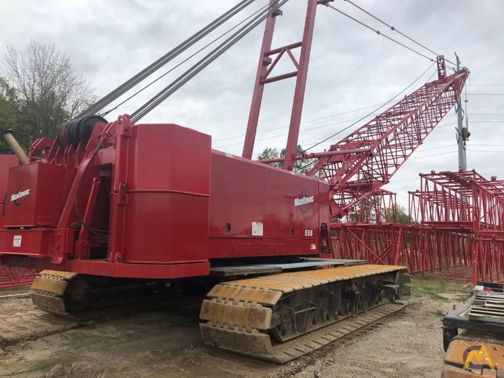Manitowoc 555 S2, Crane Parts and Equipment, Construction Equipment