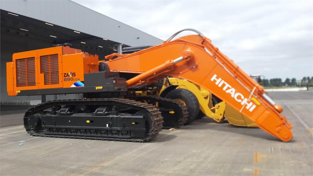 Hitachi ZX 890 LC H-5A ( unused 2 pieces), Crawler excavators, Construction