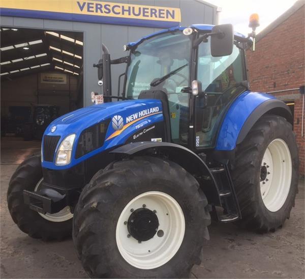 New Holland T5.105 Electro Command, Tractoren, Landbouw