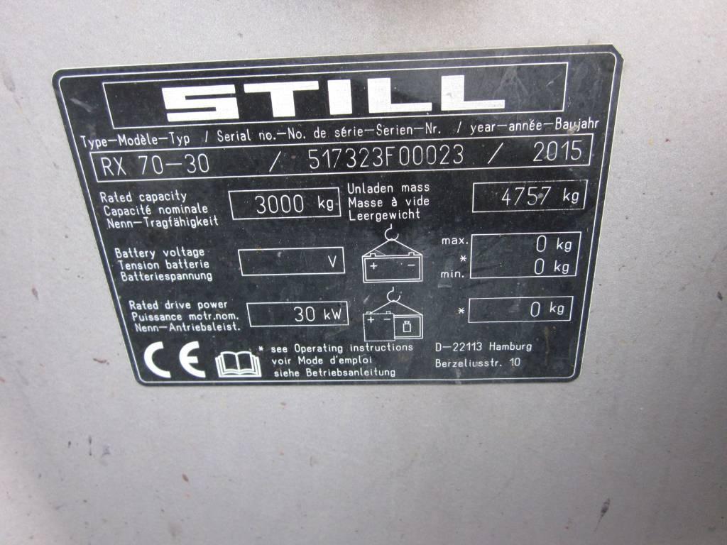 Still RX70-30 HYBRID, Dieseltrukit, Materiaalinkäsittely