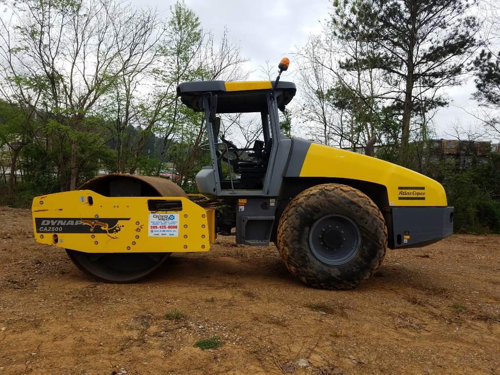 Atlas Copco 2500D, Soil Compactors, Construction Equipment