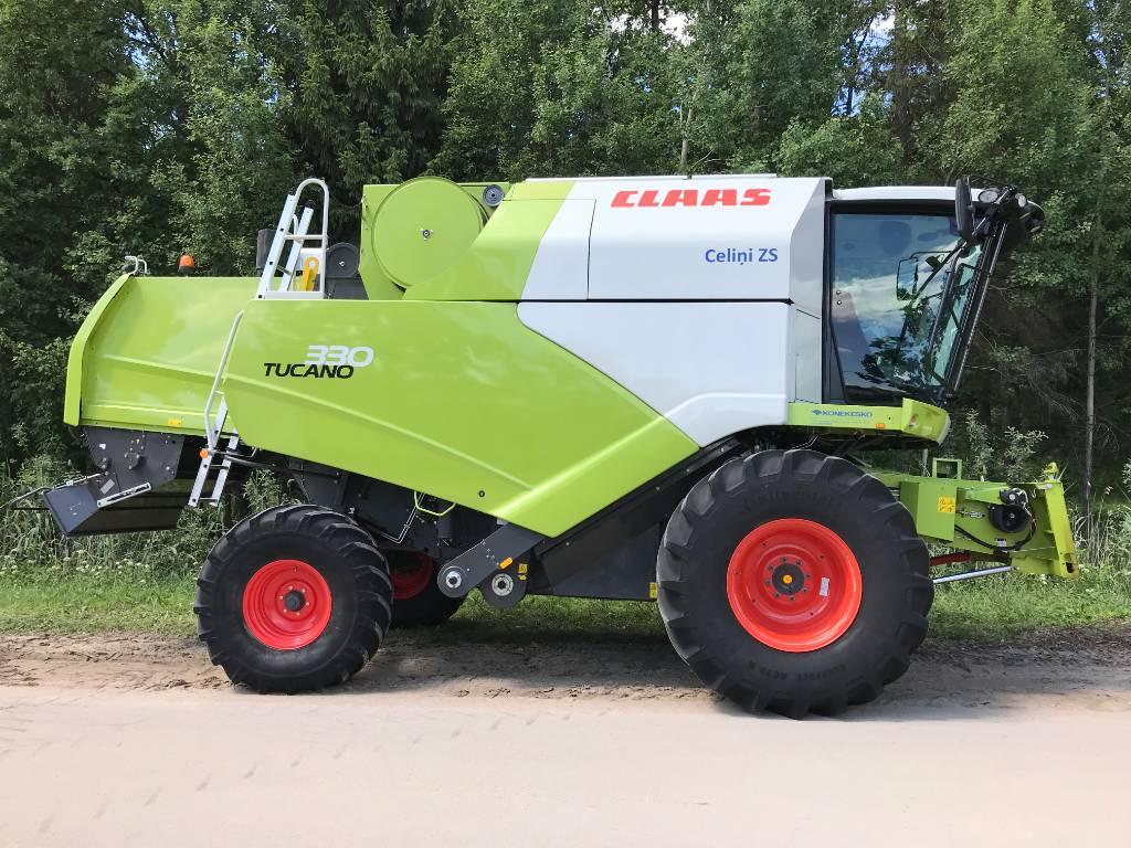 CLAAS TUCANO 330, Kombainid, Põllumajandus