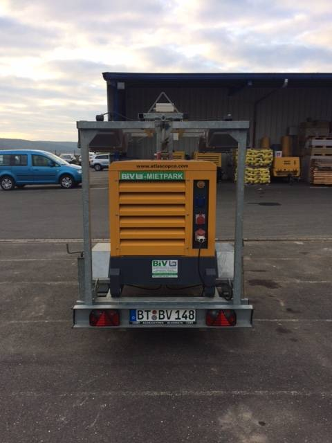Atlas Copco QAS 20, Diesel Generatoren, Baumaschinen