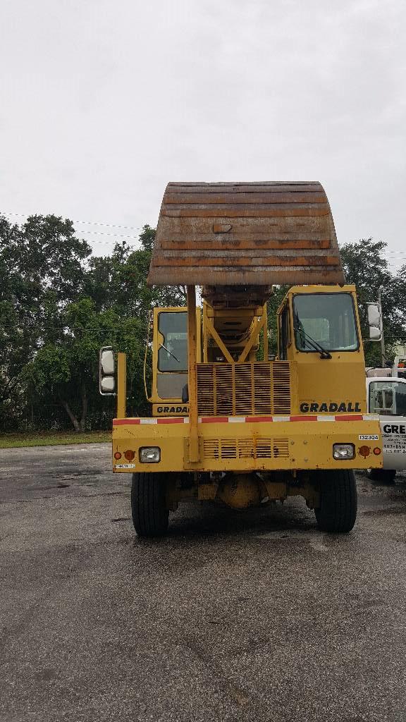 Gradall XL5100, Wheeled Excavators, Construction Equipment
