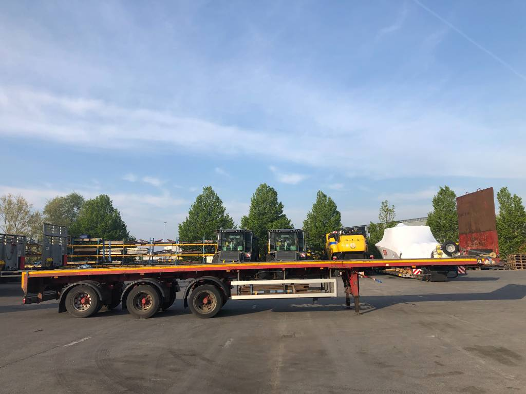 Faymonville SPZ-3AA (extendable to 29m), Flatbed/Dropside trailers, Transportation