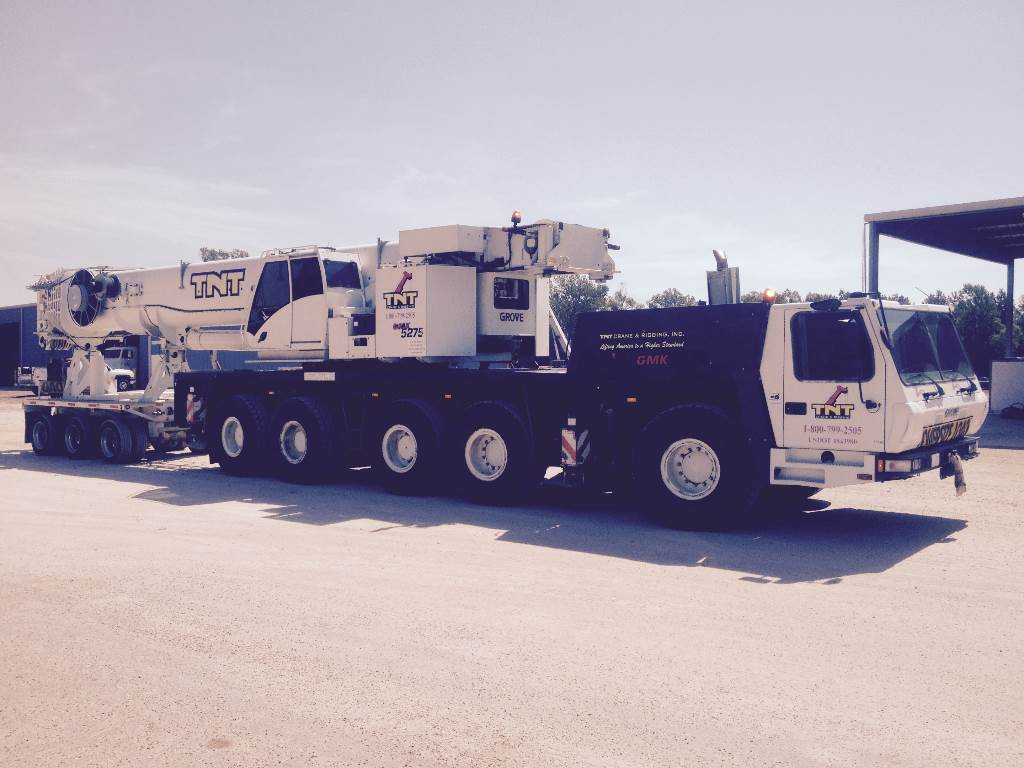 Grove GMK5275, All Terrain Cranes and Hydraulic Truck Cranes, Construction Equipment
